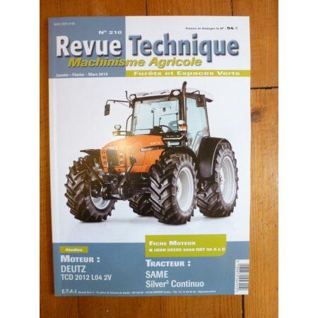 Silver Continuo Revue Technique Agricole SAME