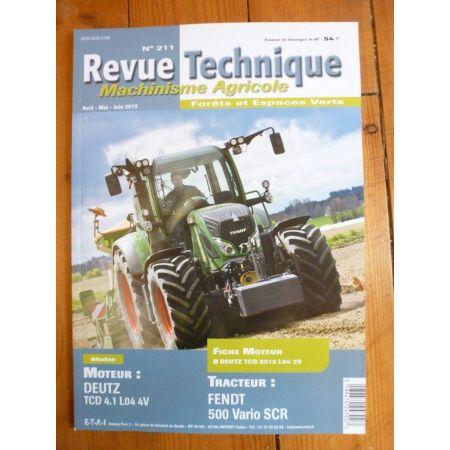 500 Vario SCR Revue Technique Agricole FENDT