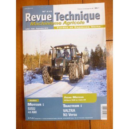 N3 Versu Revue Technique Agricole VALTRA