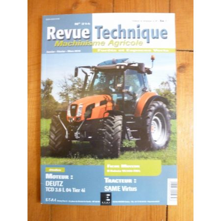 Virtus Revue Technique Agricole SAME