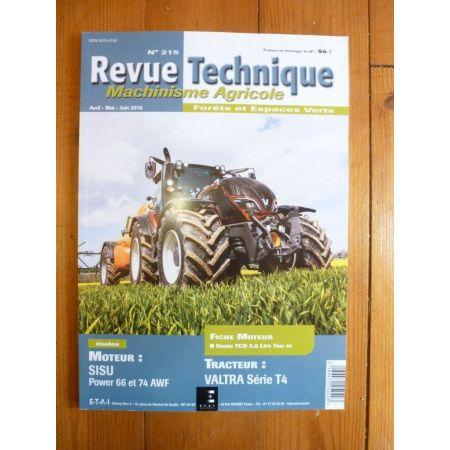 T4 Revue Technique Agricole VALTRA