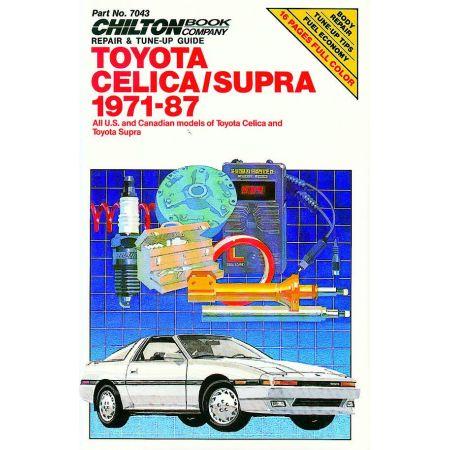 Celica - Supra 71-87 Revue technique Haynes Chilton TOYOTA Anglais