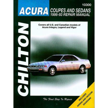 Coupes sedans 86-93 Revue technique Haynes Chilton ACURA Anglais