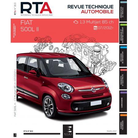 500L II 12- Revue Technique FIAT