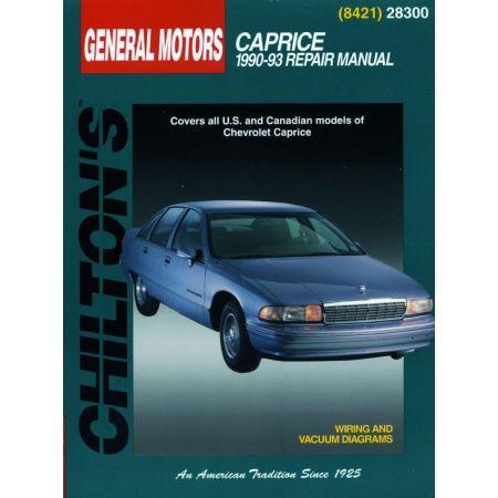 Caprice 90-93 Revue technique Haynes Chilton CHEVROLET Anglais