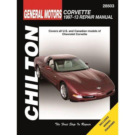 Corvertte 97-13 Revue technique Haynes Chilton CHEVROLET Anglais