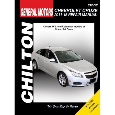 Cruze 11-15 Revue technique Haynes Chilton CHEVROLET Anglais