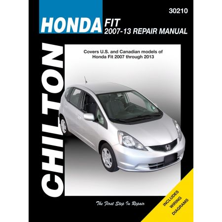 Fit 07-13 Revue technique Haynes Chilton HONDA Anglais