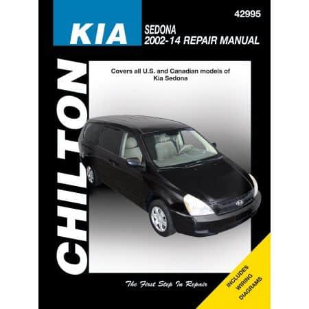 Sedona 02-14 Revue technique Haynes Chilton KIA Anglais