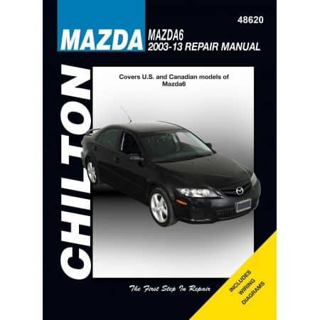 Mazda 6 03-13 Revue technique Haynes Chilton MAZDA Anglais