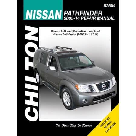 Pathfinder 05-14 Revue technique Haynes Chilton NISSAN Anglais