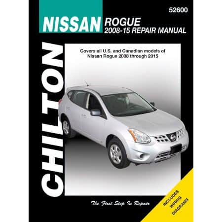Rogue 08-15 Revue technique Haynes Chilton NISSAN Anglais