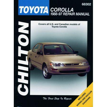 Corolla 88-97 Revue technique Haynes Chilton TOYOTA Anglais