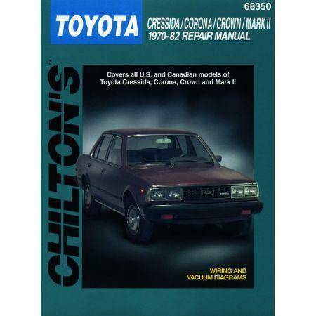 Cressida corona 70-82 Revue technique Haynes Chilton TOYOTA Anglais
