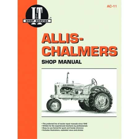 Shop Manual Revue technique Haynes Clymer ALLIS CHALMERS Anglais