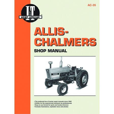 AC-35 Revue technique Haynes Clymer ALLIS CHALMERS Anglais