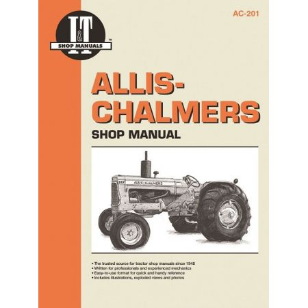 AC-201 Revue technique Haynes Clymer ALLIS CHALMERS Anglais