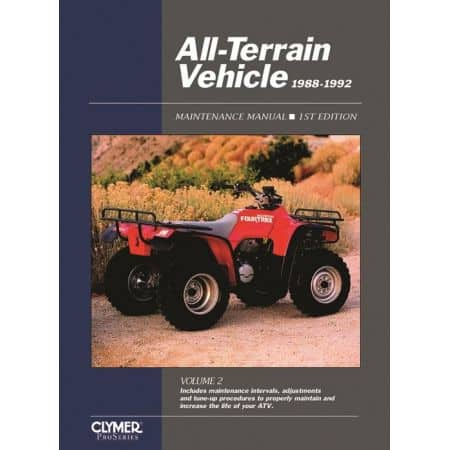 All-Terrain 88-92 Revue technique Haynes Clymer Anglais