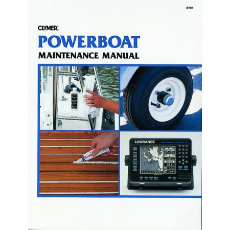 powerboat Revue technique Haynes Clymer Anglais