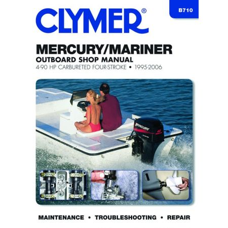 4-90 HP Revue technique Haynes Clymer MERCURY Anglais