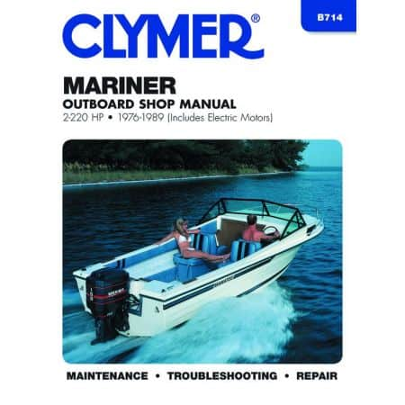 2-220 HP 76-89 Revue technique Haynes Clymer MARINER Anglais