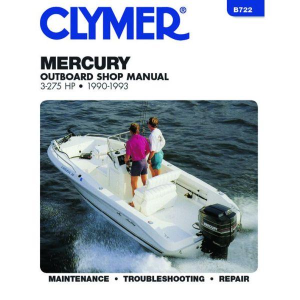 3-275 HP 90-93 Revue technique Haynes Clymer MERCURY Anglais