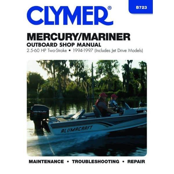 2.5-60 HP 94-97 Revue technique Haynes Clymer MERCURY Anglais