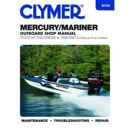75-275 HP 94-97 Revue technique Haynes Clymer MERCURY Anglais