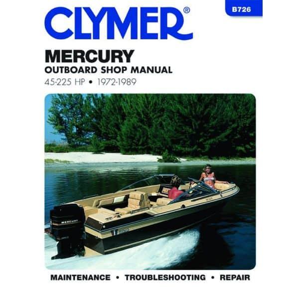 45-225 HP 72-89 Revue technique Haynes Clymer MERCURY Anglais