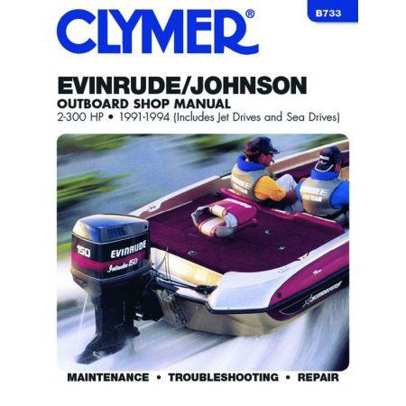 2.300 HP 91-94 Revue technique Haynes Clymer EVINRUDE Anglais