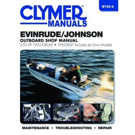 2.70 HP 95-07 Revue technique Haynes Clymer EVINRUDE Anglais