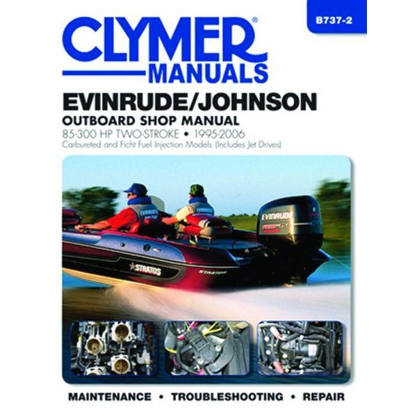 85-300 HP 95-06 Revue technique Haynes Clymer EVINRUDE Anglais