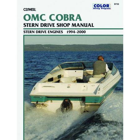 Cobra Stern 94-00 Revue technique Haynes Clymer OMC Anglais