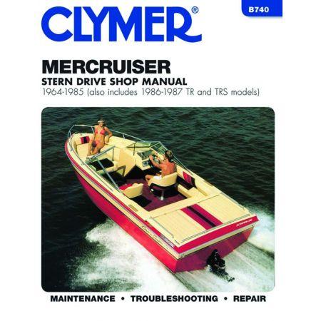 Stern 64-87 Revue technique Haynes Clymer MERCRUISER Anglais