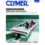 Alpha bravo 86-94 Revue technique Haynes Clymer MERCRUISER Anglais