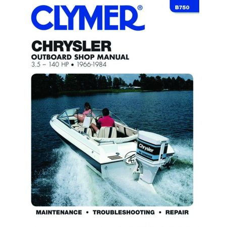 2.5-140 HP 66-84 Revue technique Haynes Clymer CHRYSLER   Anglais