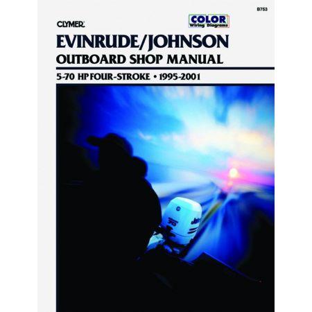 5-70 HP 95-01 Revue technique Haynes Clymer EVINRUDE Anglais