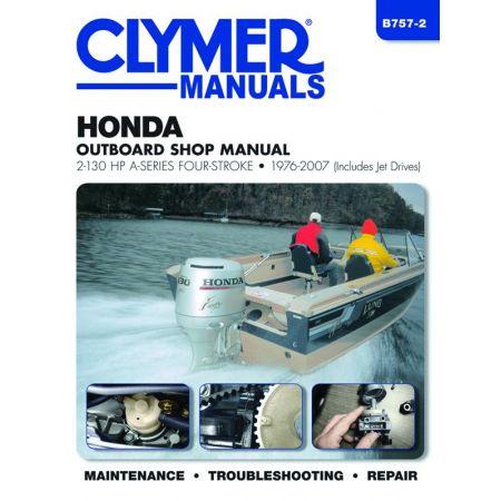 2-130 HP 76-07 Revue technique Haynes Clymer HONDA Anglais