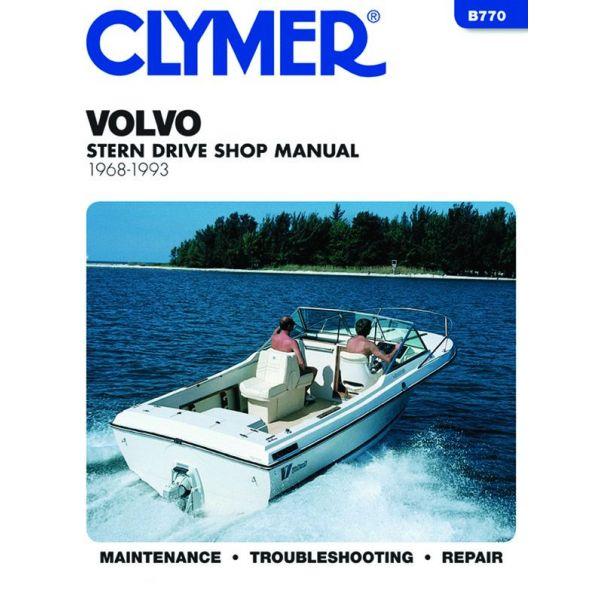 Stern 68-93 Revue technique Haynes Clymer VOLVO Anglais