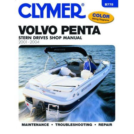 Penta Stern 01-04 Revue technique Haynes Clymer VOLVO Anglais
