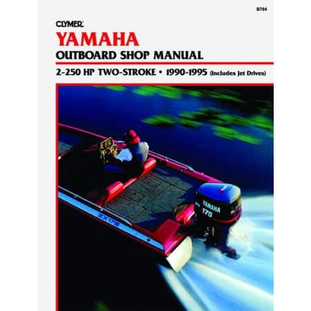 2-225 HP 2-STROKE 90-95 Revue technique Haynes Clymer YAMAHA Anglais