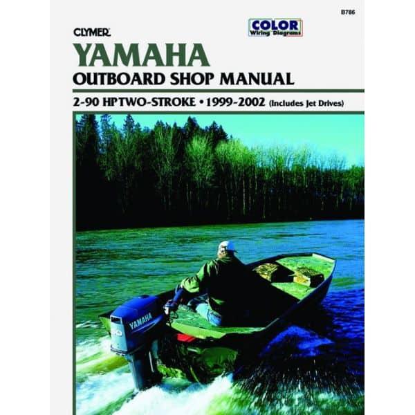 2-90 HP 2-STROKE 99-02 Revue technique Haynes Clymer YAMAHA Anglais