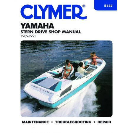 STERN DRV 89-91 Revue technique Haynes Clymer YAMAHA Anglais