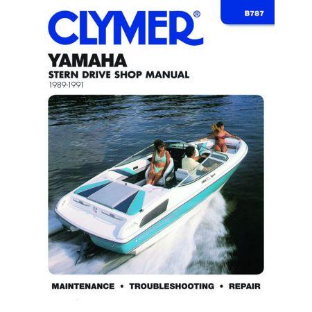 STERN DRV 89-91 Revue technique Haynes Clymer YAMAHA Anglais