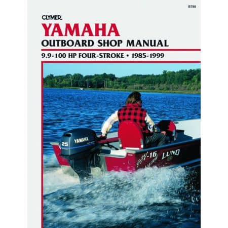 9.9-100 HP 4-STROKE 85-99 Revue technique Haynes Clymer YAMAHA Anglais