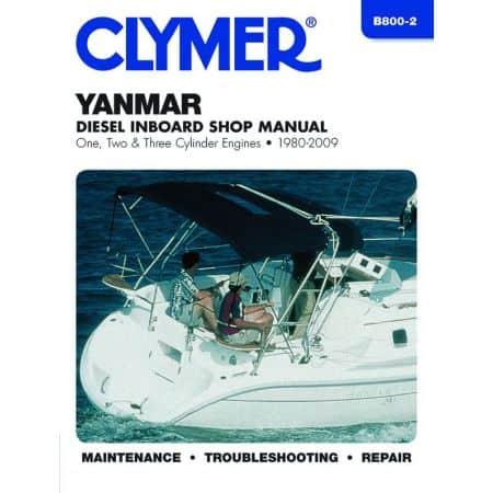 Diesel 1-3 cyl. 80-09 Revue technique Haynes Clymer YANMAR Anglais