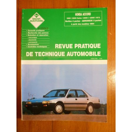 Accord 84- Revue Technique Honda