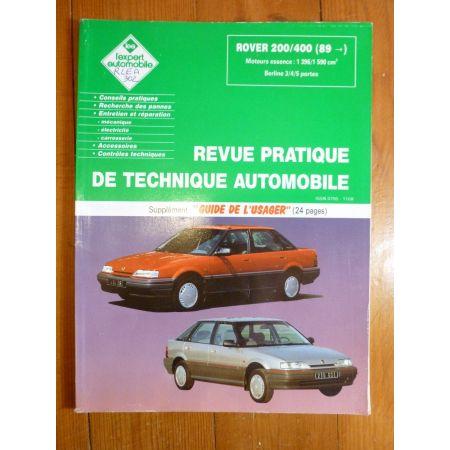 200 400 89- Revue Technique Rover