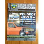 205 87- Revue Technique Peugeot