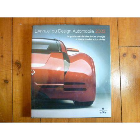 Design auto 2003 Livre